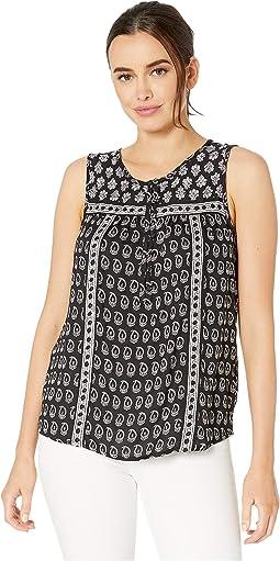 c60d1dc15c8 Lucky Brand. Old Favorite Mini Skirt.  69.50. New. Black Multi