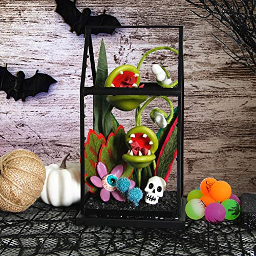popular Twinkle Star Halloween Decorations Ghoulish Garden Artificial Flowers House, Halloween Succulent Biting Blossoms Piranha Plant discount Man Eating Plant, Skeleton new arrival Skull Halloween Prop Tabletop Decor online sale