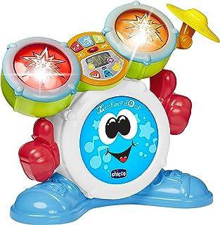 Chicco Mi Primera Batterie pour Enfants, Instrument de Musique avec lumières et Sons, 3 Modes de Jeu