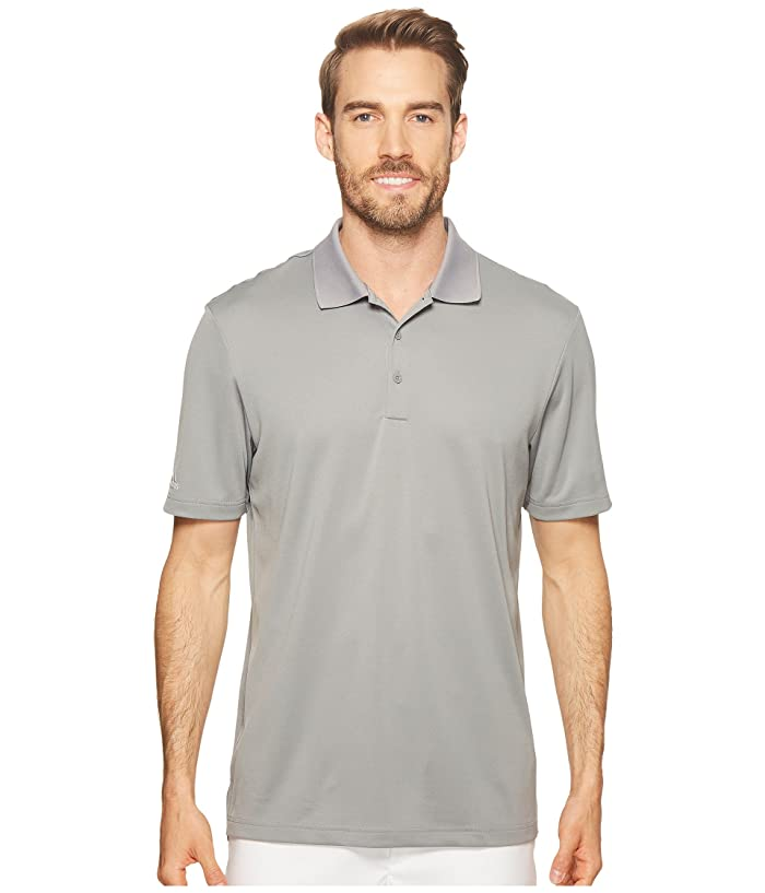 adidas Golf Performance Polo (Grey Three) Men
