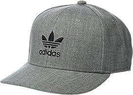 622268a9e567c adidas Skateboarding Two-Tone Blackbird Snapback Hat at Zappos.com