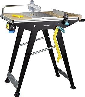 wolfcraft 6906506 Master Cut 1500 – precisionssågbord och arbetsstation, svart
