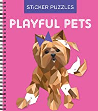 Sticker Puzzles: Playful Pets