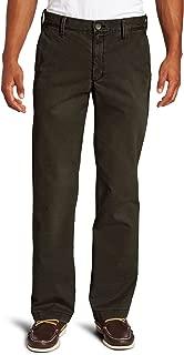 Haggar Men's Life Khaki Sand-Washed Straight-Fit Chino Pant