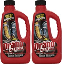 Drano Max Clog Remover Gel, 32 Ounce (Pack of 2)