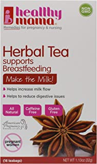 healthy mama Make the Milk! Fenugreek Nursing Tea (2) pack