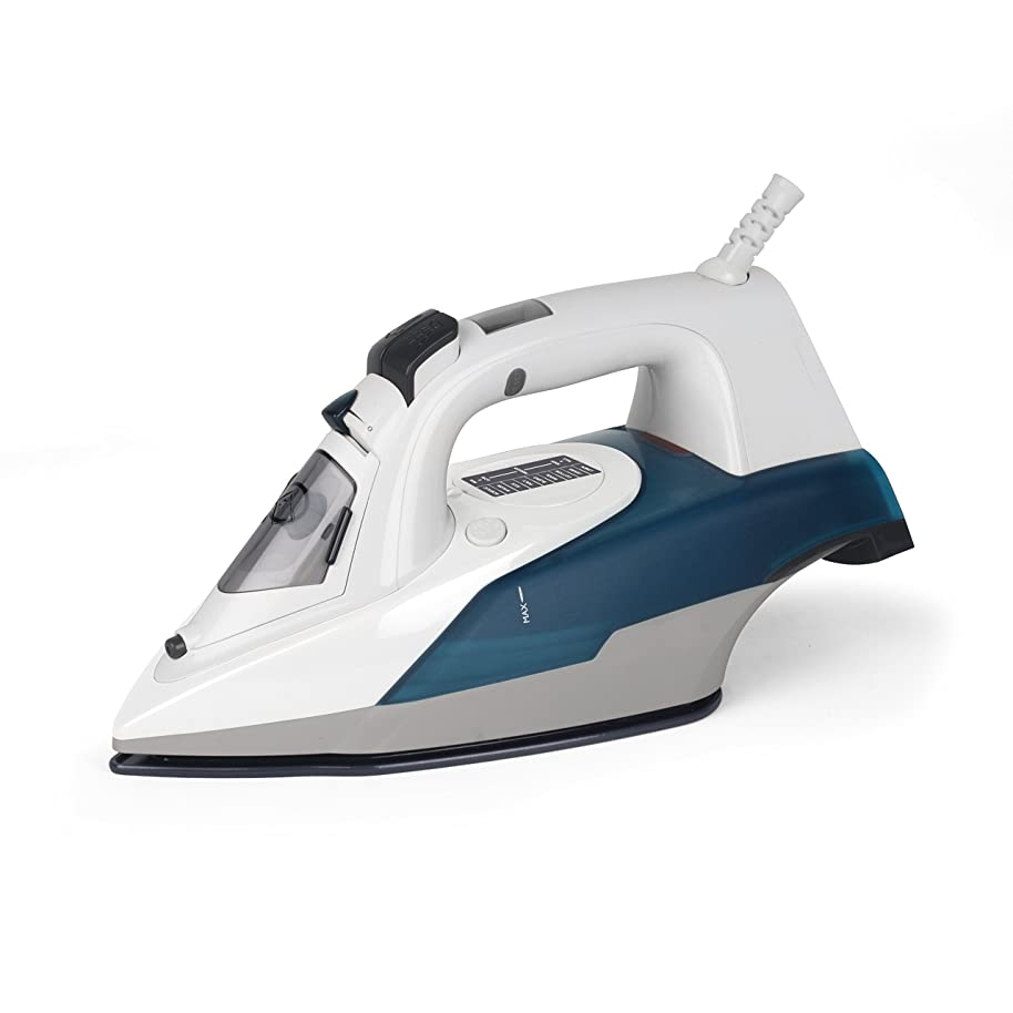 Westinghouse Clothing Steam Iron with LCD Display – Non-Stick Ceramic Soleplate Steam Press Iron – Professional Iron with Auto Shut-Off