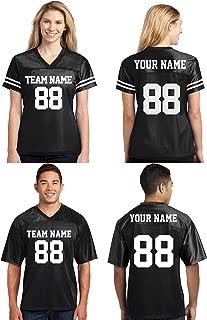 Custom Football Jerseys for Men & Women - Make Your OWN Jersey T Shirts & Customized Team Uniforms