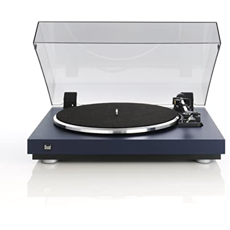 Dual CS 440 Plattenspieler blau