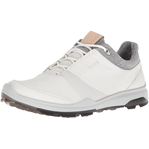 98273618ac2c ECCO Women s Biom Hybrid 3 Gore-Tex Golf Shoe White Black 38 M EU