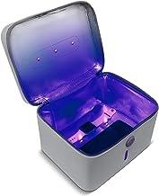 Aduro U-Clean UV Light Sanitizer Bag Portable UV-C Light Sterilizer Box UVC Light Sanitizer Light Cleaner Bag Disinfectant...