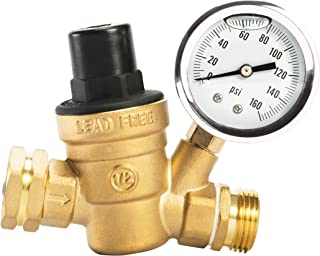 Brass Industrial Pressure Regulator A sixx Water Pressure Regulator for Pipe Fitting for Hydraulic Equipment