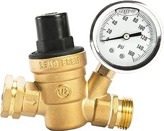 Best adjustable water pressure reducing valve Reviews