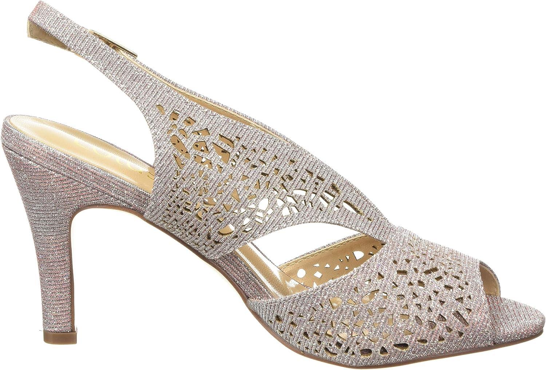 Lotus Womens Amelia Open Toe Heels