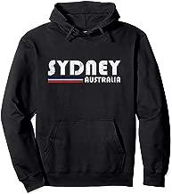 Sydney Australia Retro Vintage Travel Vacation Gift Pullover Hoodie