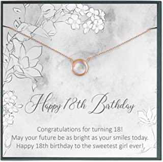 18th Birthday Gifts for Girls, Gift for 18 Year Old Girl Gift for Her Eighteen Year Old Birthday Jewelry Gift 18th Birthday