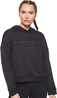 Under Armour Women's Tech Terry Hoodie, Black, Small