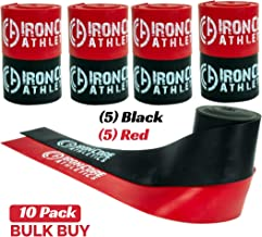 Iron Core Athletics Physical Therapy Exercise Bands - Floss Bands for Muscle Compression - Keep Moving Mobility and Recovery Flossing Bands
