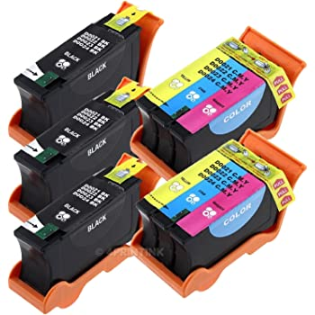 SuppliesMAX Compatible Replacement for Dell P513//V313//V313W Inkjet Combo Pack Series 22 3-Black//2-Color 592-11328/_3PK//592-11330/_2PKMP