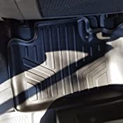 SMARTLINER Floor Mats For Dodge Durango 2013-2017 3 Row Black A0127//B0071//C0071