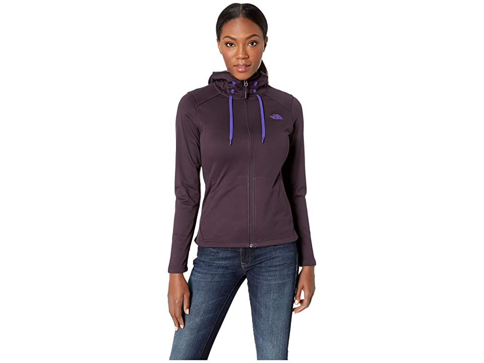 The North Face Tech Mezzaluna Hoodie (Galaxy Purple) Women