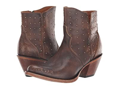 Lucchese Harley (Chocolate Stonewash) Cowboy Boots