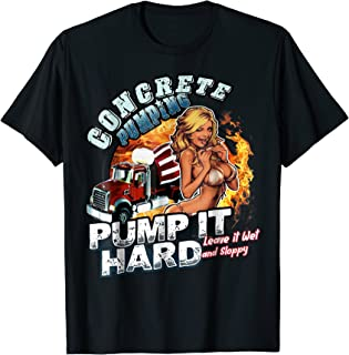 concrete pumping shirts