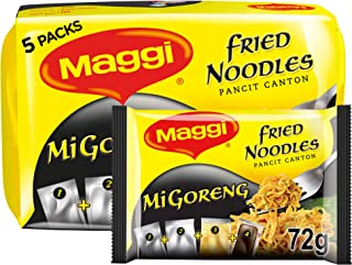 Maggi Mi-Goreng Fried Noodles, 5 x 72g