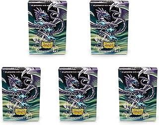 5 Packs Dragon Shield Classic Mini Japanese Art Qyonshi 60 ct Card Sleeves Value Bundle!