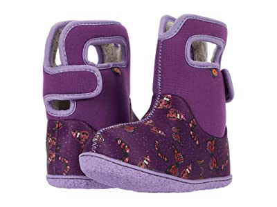 Bogs Kids Baby Bogs Butterflies (Toddler) (Violet Multi) Girl