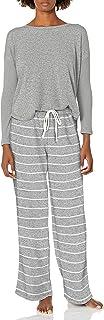 Karen Neuburger Women's Long Sleeve Crew Neck Pajama Set