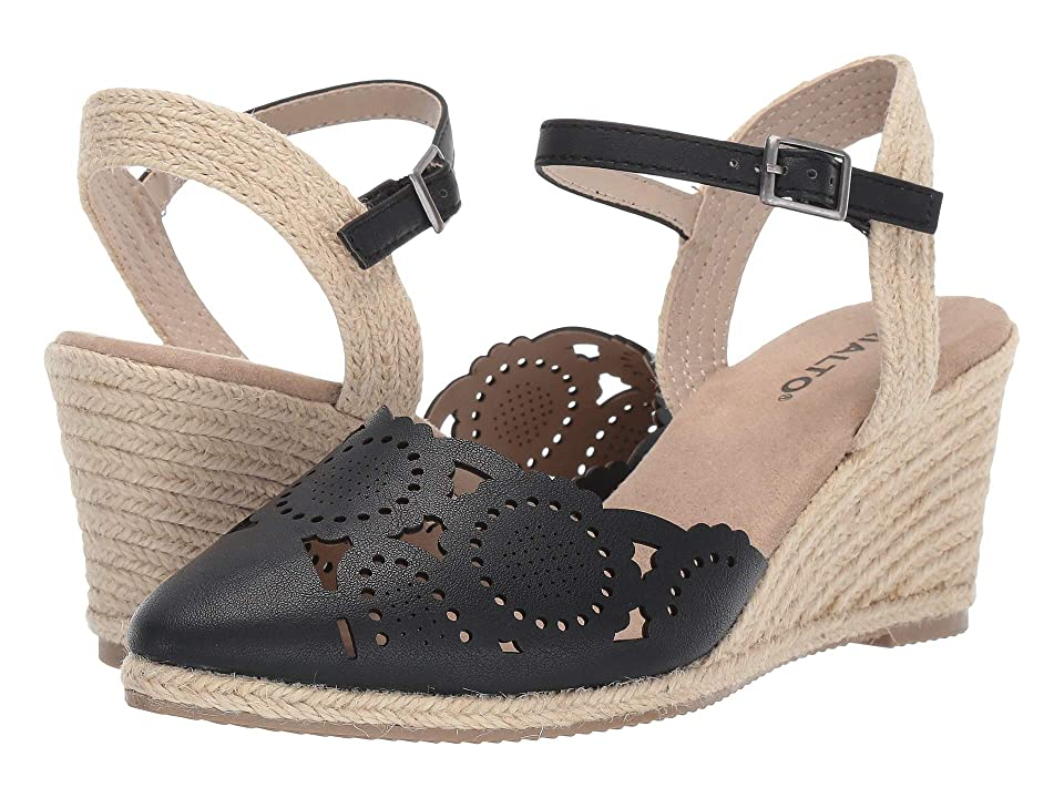 Rialto Coya (Black Burnished Smooth) Women