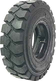 One New Zeemax Heavy Duty 5.00-8 /10TT Forklift Tire w/Tube & Flap Rim Guard