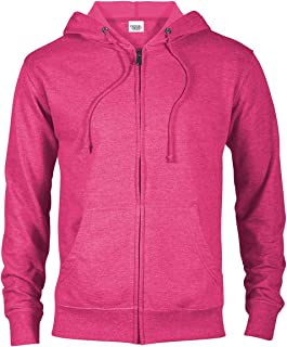 0e920934809e Casual Garb Hoodies for Men Lightweight Fitted Heather French Terry Full  Zip Hoodie Hooded Sweatshirt