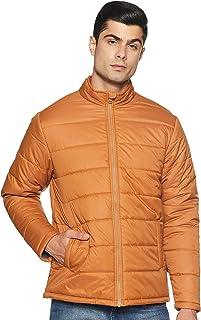 Amazon Brand - Symbol Men's Quilted Jacket (AZ-TR-AW03_Sun Tan_Large)