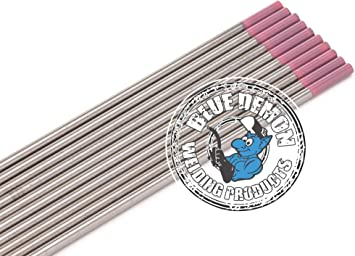 Pink and Grey Oxide Tungsten Electrode W lymox Lux