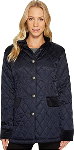 Vince Camuto - Quilted Jacket with Velvet Trim N8621
