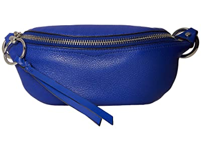Rebecca Minkoff Bree Mini Belt Bag (Bright Blue) Day Pack Bags