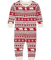 Fair Isle Bear Union Suit (Infant)