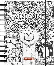 11,0 x 29,7 cm 1 Seite = 2 Tage BRUNNEN 1078402301 Tischkalender//Vormerkbuch Modell 784 Deckenband blau Kalendarium 2021