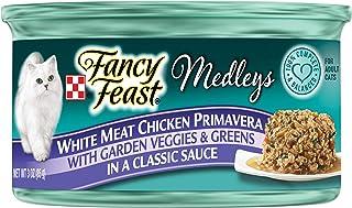 Purina Fancy Feast Medleys White Meat Chicken Primavera Wet Cat Food Can 85g