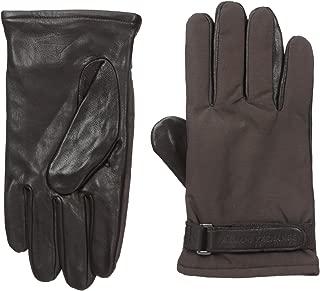 Armani Exchange Men's Goat Leather Gloves