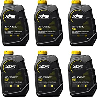 BRP Ski-Doo Can-Am Sea-Doo XPS New OEM 2-Stroke Synthetic Oil 6 Quarts, 779126