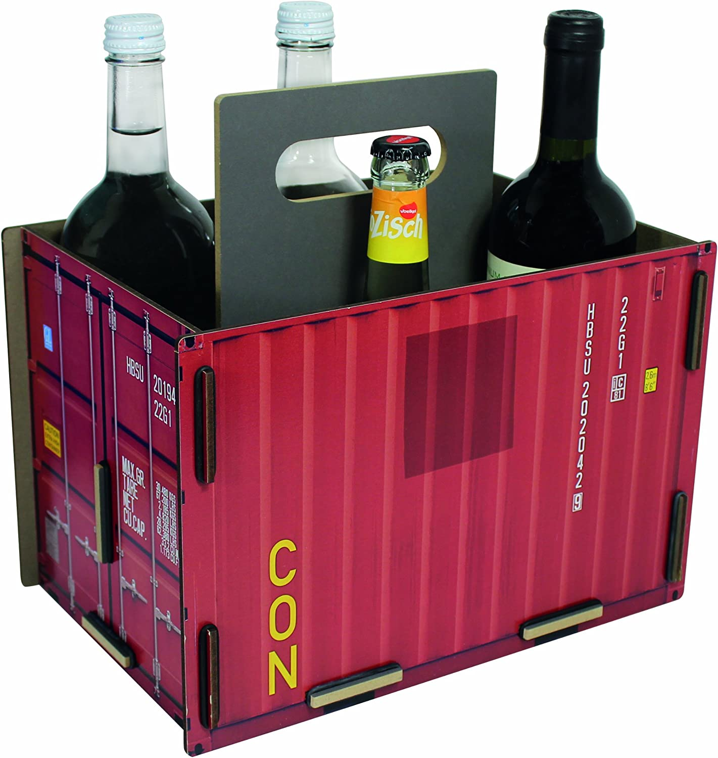 Werkhaus Container Sixpack rot B00IG6OEES B00IG6OEES B00IG6OEES 495ab1