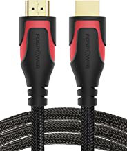 HDMI Cable - 6FT, FosPower 4K Latest Standard 2.0 HDMI Ready [UL Listed][Nylon Braided Cord] - Ultra HD High Speed 18Gbps - Supports 4K 2160p UHD 3D HDR 1080p (24K Gold Plated Connector)