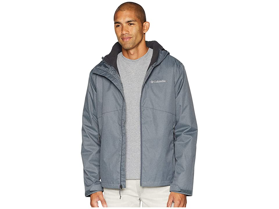 Columbia Rainie Fallstm Jacket (Graphite/Stone Sherpa) Men