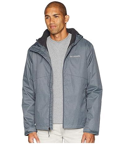 Columbia Rainie Fallstm Jacket (Graphite/Stone Sherpa) Men