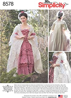 18th century gown pattern