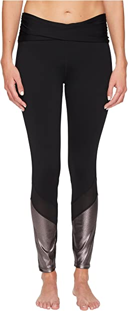 Ivanka Trump - Ruched Active Leggings