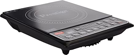 Prestige PIC 16.0+ 1900- Watt Induction Cooktop with Push button (Black)